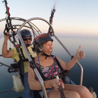 Paragliden in de algarve